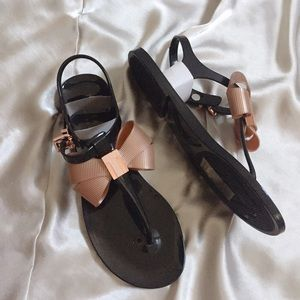 Ted baker jelly flat sandals 5